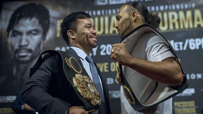 Pacquiao vs Thurman, mondiale dei pesi welter a Las Vegas il 20 luglio