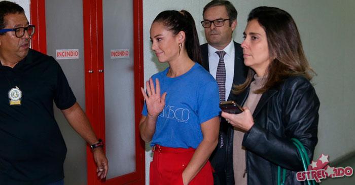 Paolla Oliveira se pronuncia após vídeo falsamente atribuído a ela: 'muito violento'