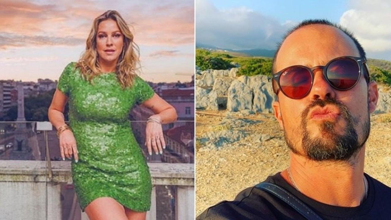 Luana Piovani e Paulo Vilhena curtem noite juntos em Portugal