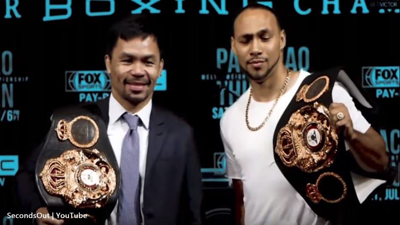 Manny Pacquiao's now the favorite to beat Thurman