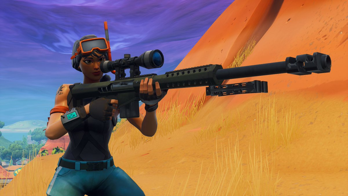 Epic Games has added the Storm Scout Sniper Rifle to 'Fortnite' game data