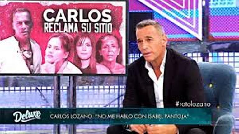 Carlos Lozano ataca a Isabel Pantoja diciendo que ella no es superior a nadie