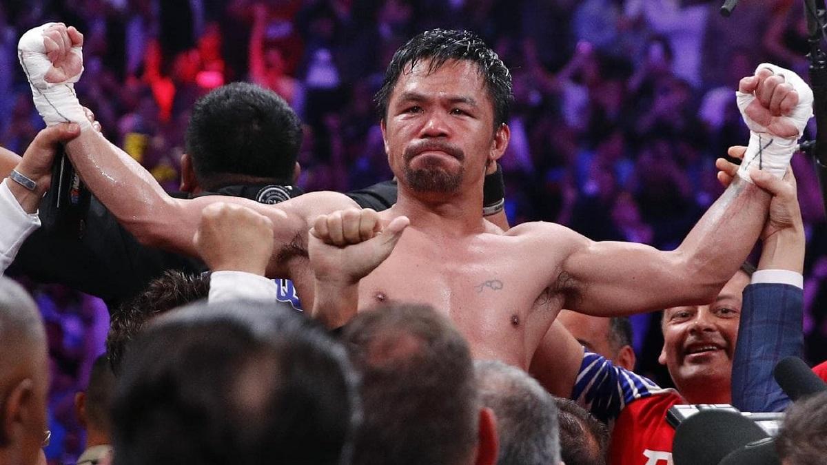 Manny Pacquiao infinito, batte Thurman e diventa campione unico WBA dei welter