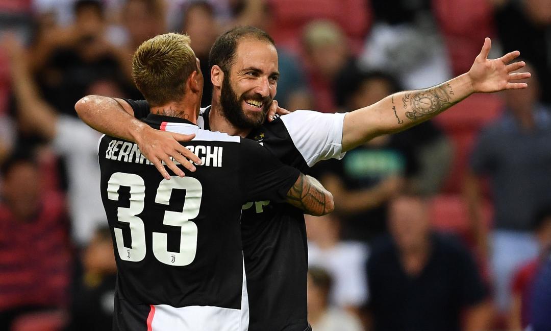 Higuain: nonostante la buona prova contro il Tottenham, la Juve dovrebbe cederlo