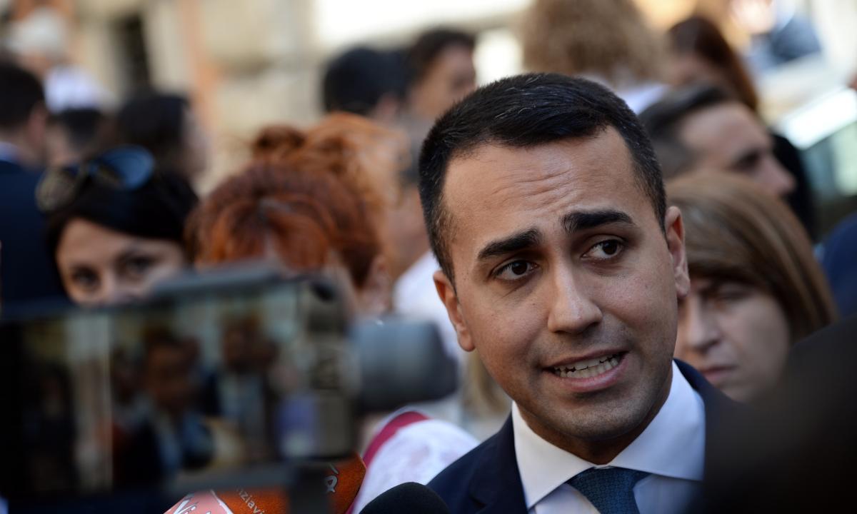 Il vicepremier Di Maio esclude qualsiasi alleanza con il PD