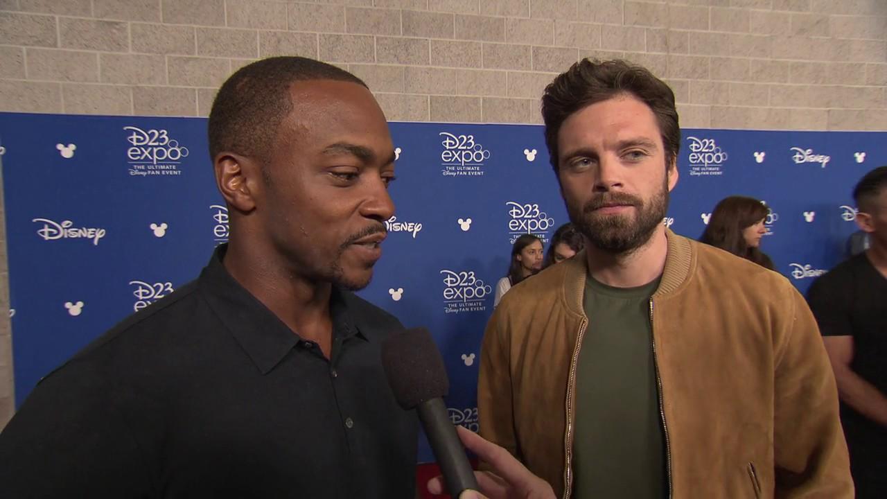 Marvel talks 'Falcon and Winter Soldier' during Comic Con presentation