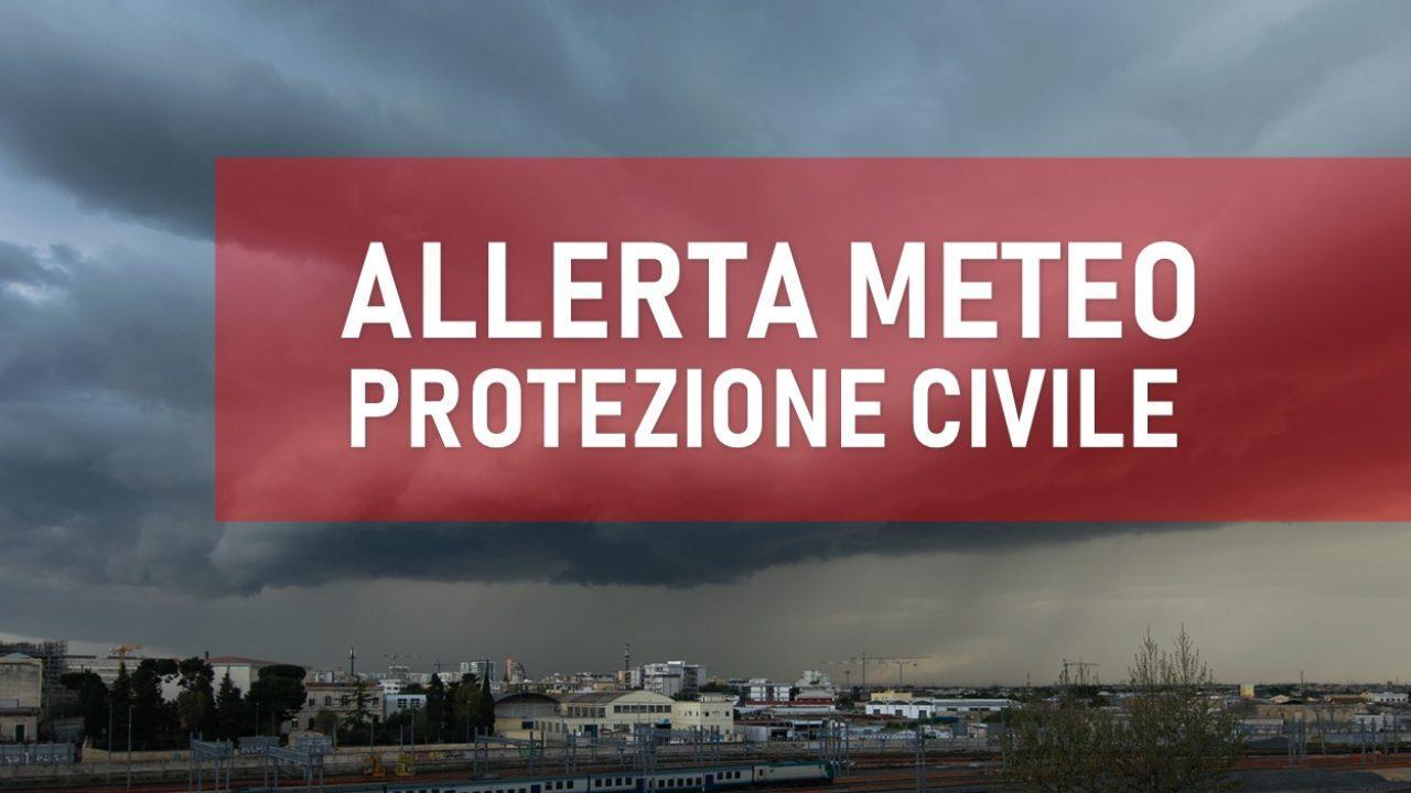 Maltempo Veneto, allerta della Protezione Civile