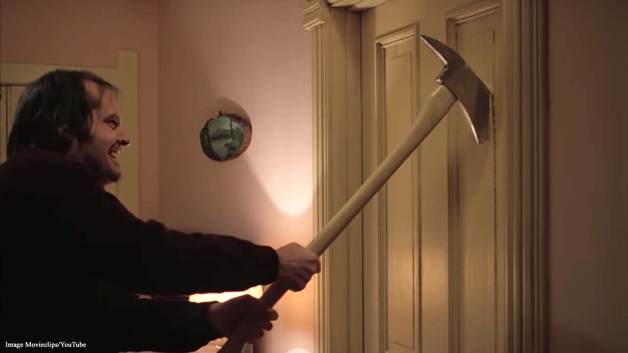 'The Shining:' Watch the iconic horror film in the film set of the Overlook Hotel