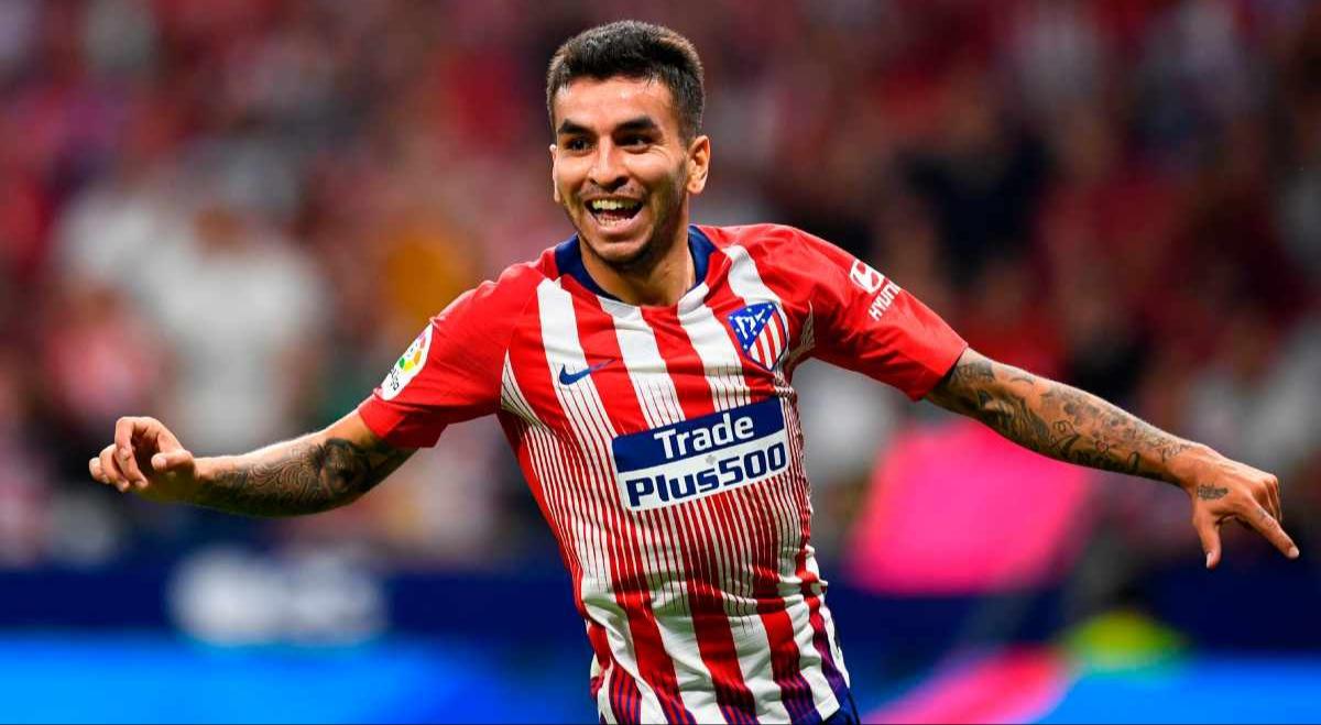 Atletico Madrid's Angel Correa set for Milan