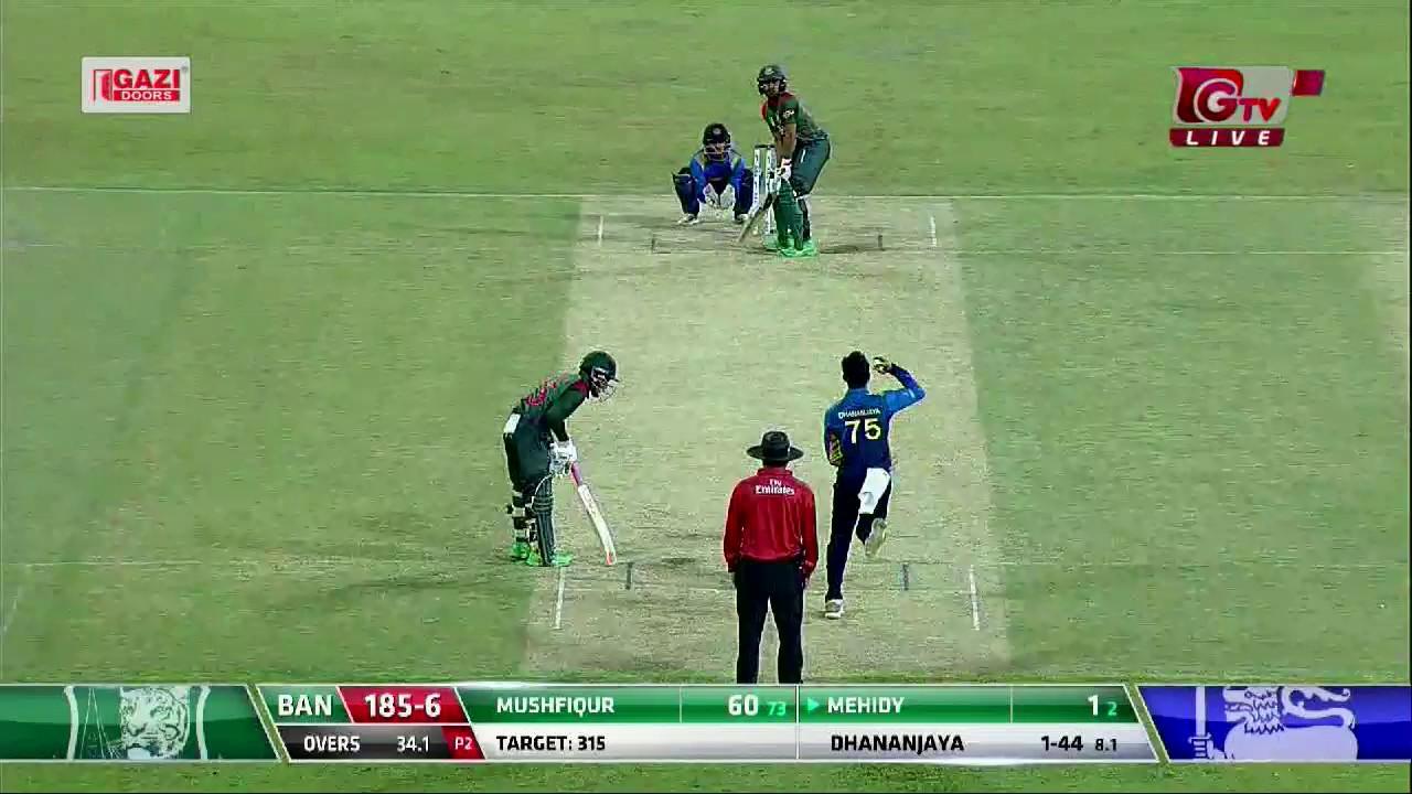 Sony Six live online streaming Bangladesh vs Sri Lanka 3rd ODI at Sonyliv.com