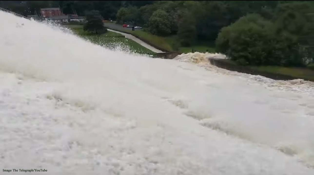 Whaley Bridge, Derbyshire evacuated after heavy rainfall damages dam at reservoir