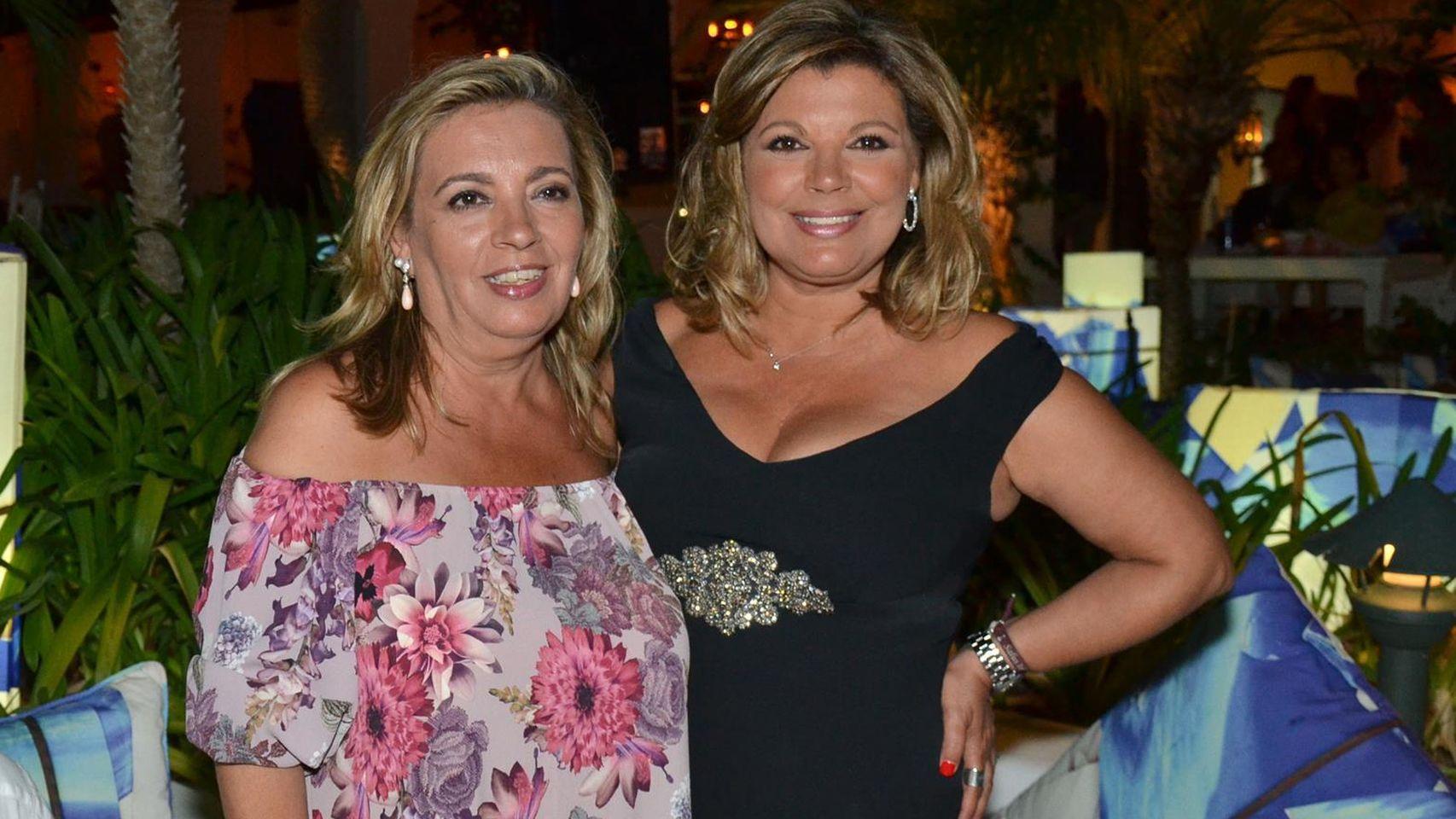 Carmen Borrego confiesa que antes le tenia envidia a su hermana por ser más delgada