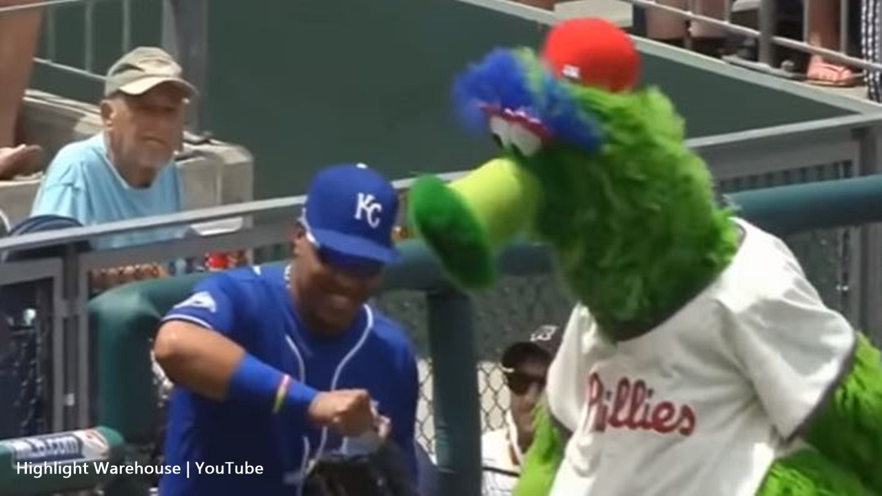 Philadelphia Phillies in court over the use of their mascot Phillie Phanatic