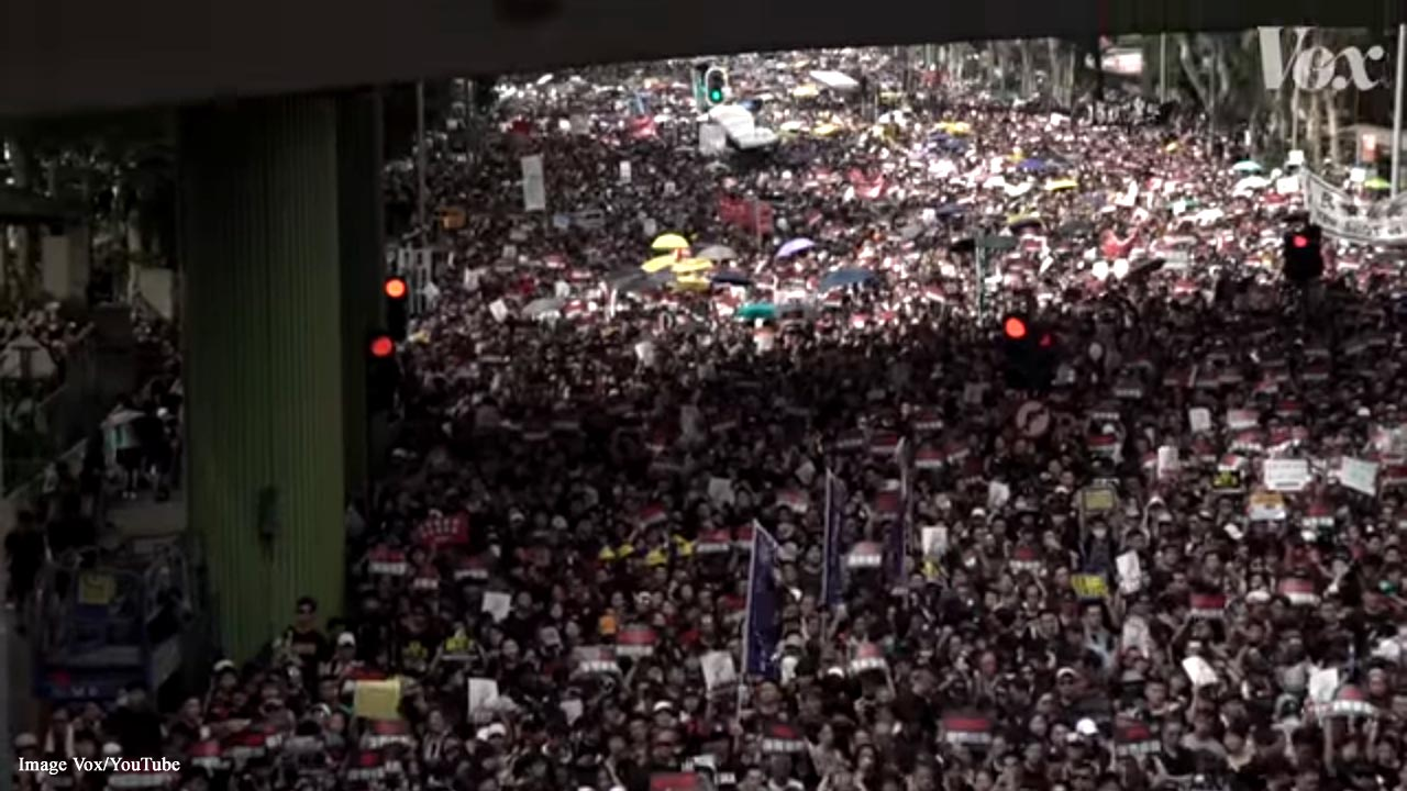 Hong Kong International Airport taken over by protesters