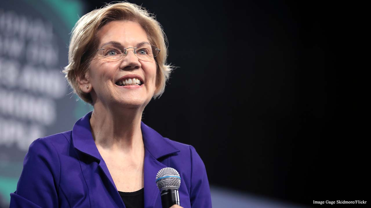 Elizabeth Warren unveils plans for gun control following mass shootings
