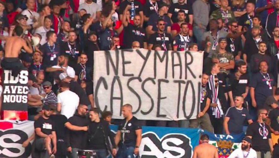 Fin de l'histoire d'amour entre Neymar et les ultras
