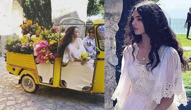 La figlia di Monica Bellucci manda in visibilio i fotografi