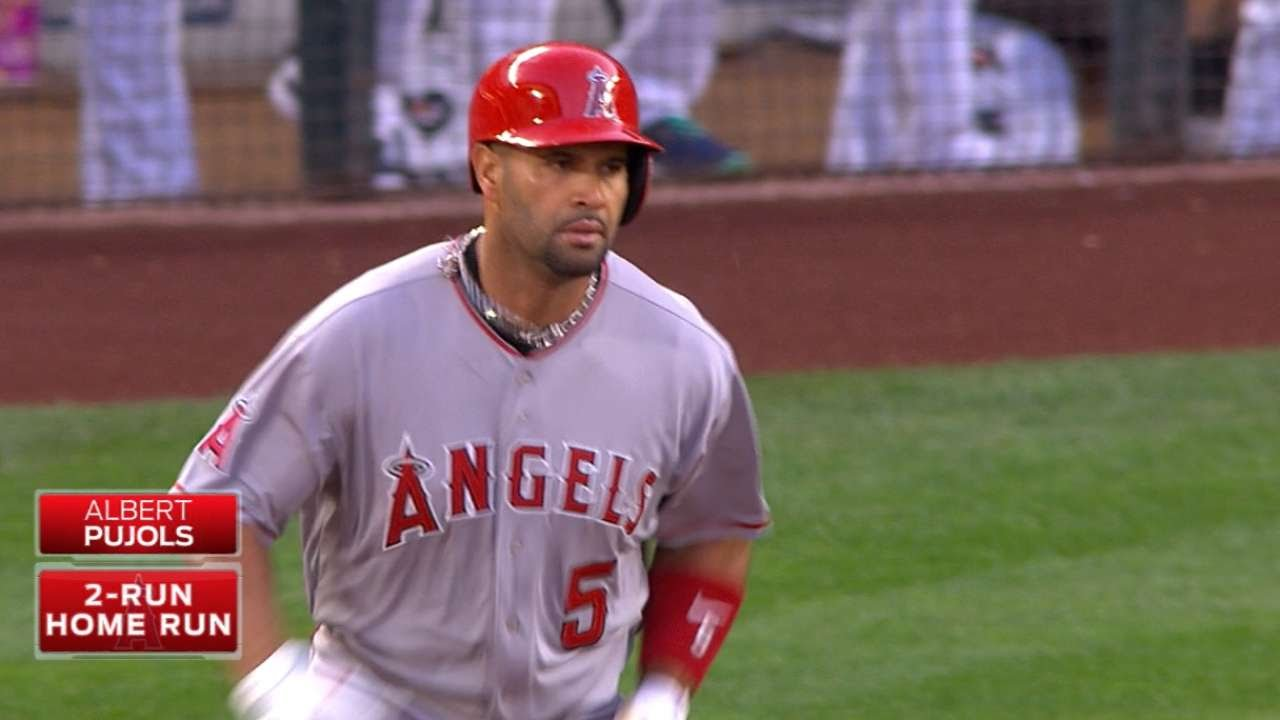 Albert Pujols cementing himself into the history books