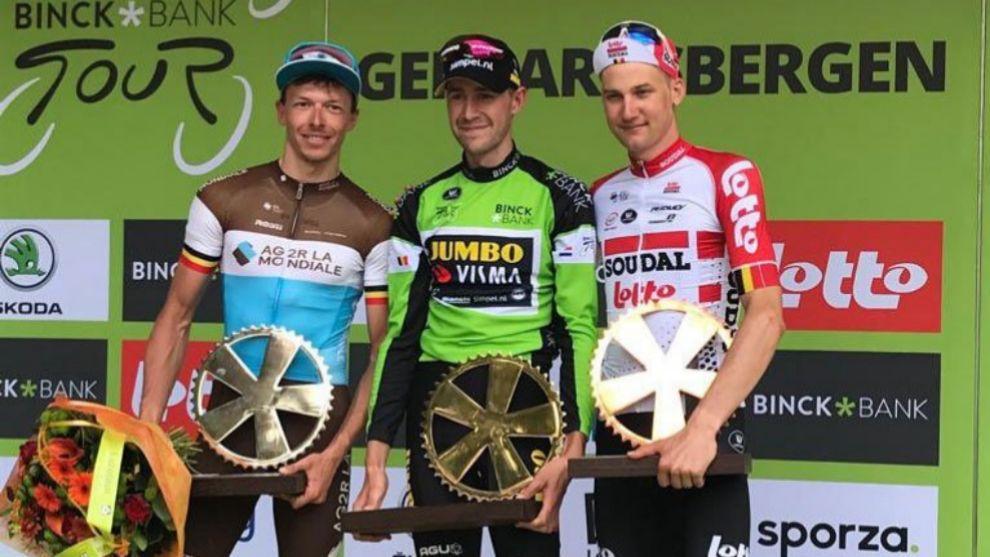 Laurens De Plus scavalca Tim Wellens e vince il BinckBank Tour