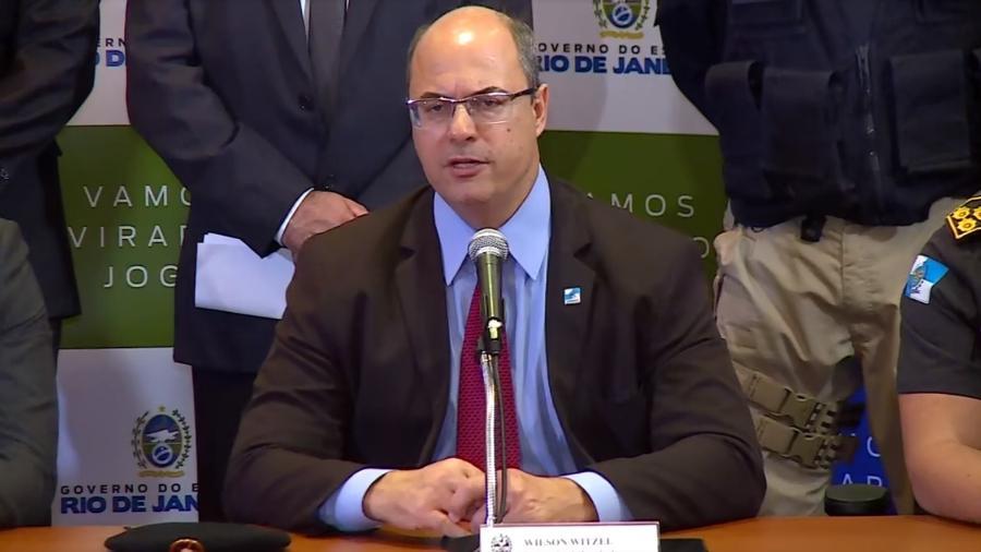 Wilson Witzel elogia ação policial durante o sequestro do ônibus no RJ