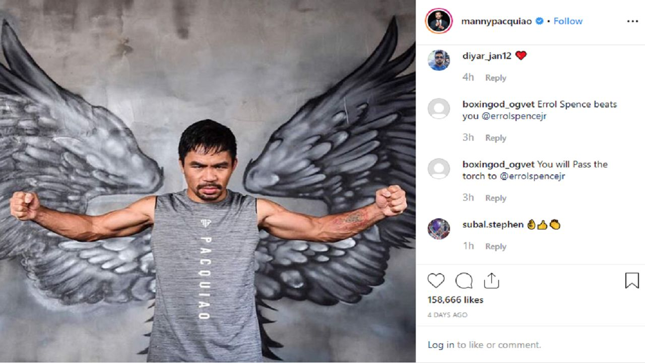 Manny Pacquiao named among the greatest in boxing history