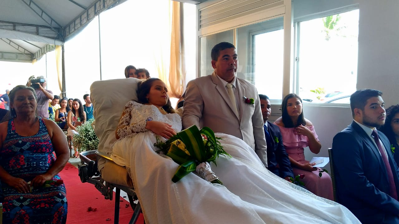 Mulher que se casou em hospital de Maceió faleceu