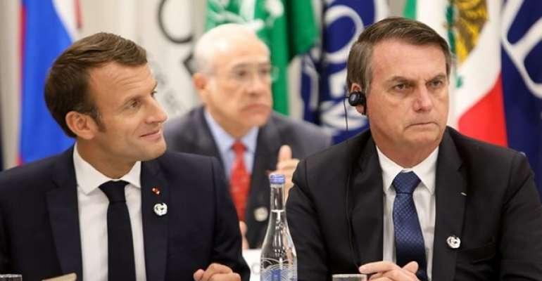 Presidente francês convocou reunião de emergência para discutir situação da Amazônia