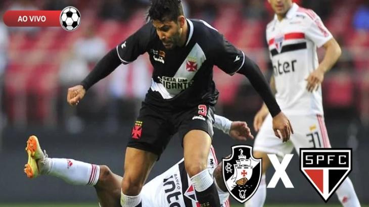 Vasco x São Paulo vai ser transmitido ao vivo na TV Globo