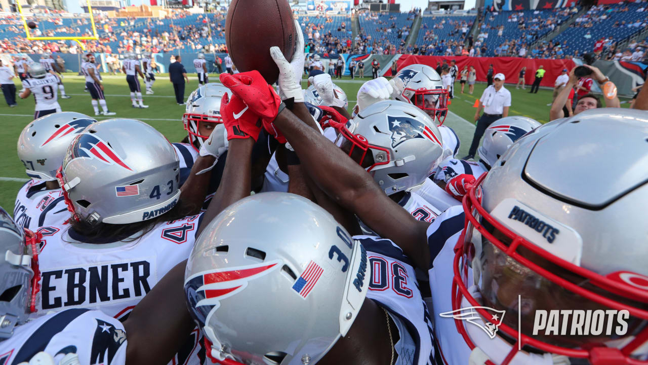 Patriots make roster changes as preseason winds down