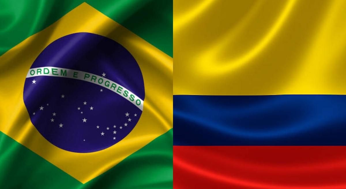 Resultado de imagem para brasil colômbia