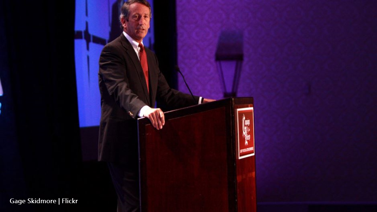 Mark Sanford challenges Donald Trump for the presidency