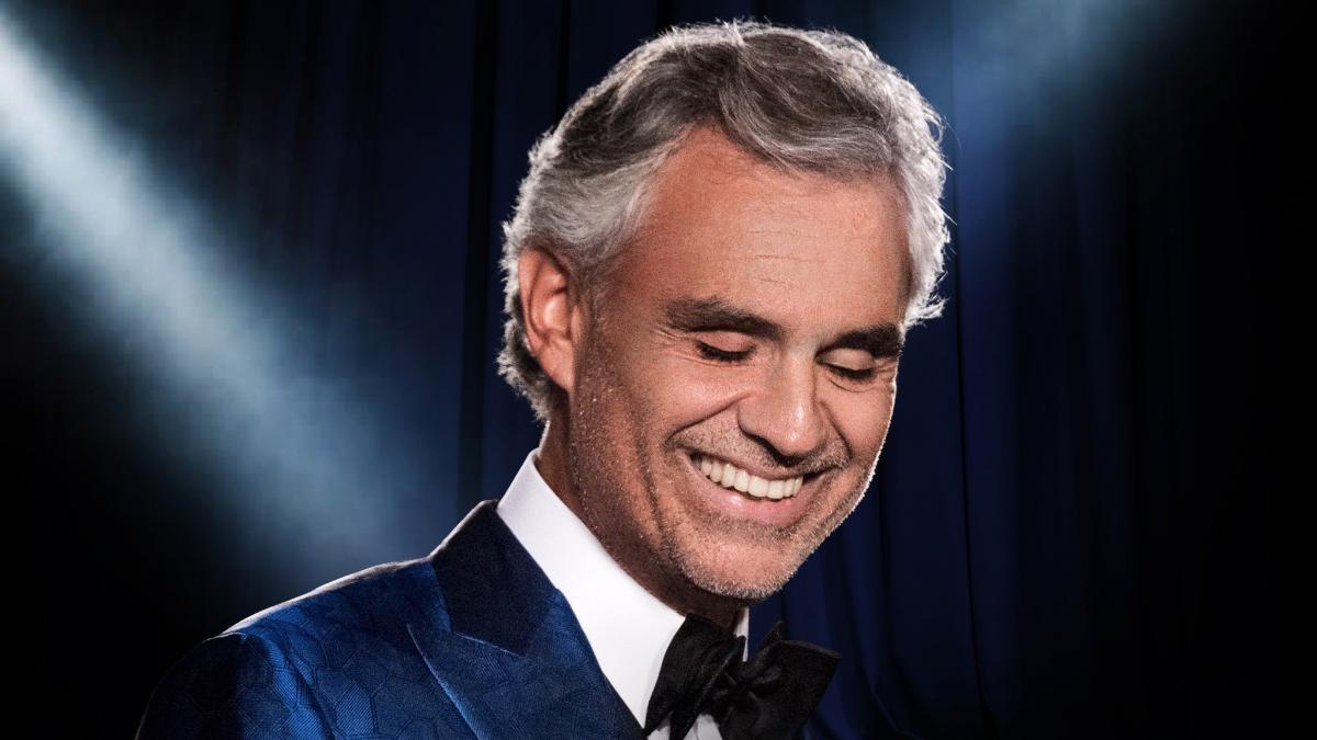 Andrea Bocelli su Rai 1 il 14 settembre nel concerto al Teatro del Silenzio di Lajatico