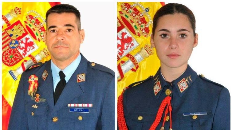 Un instructor del EDA y su alumna mueren en un vuelo de entrenamiento