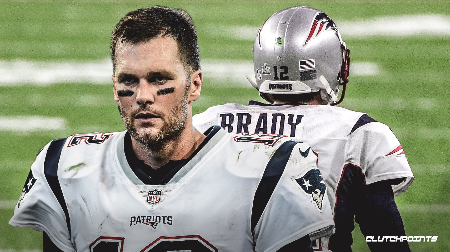 Patriots' Tom Brady limited in practice with calf injury