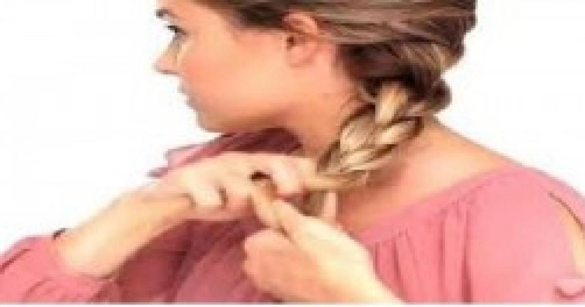 Moda capelli, in voga le trecce alla francese o a spirale